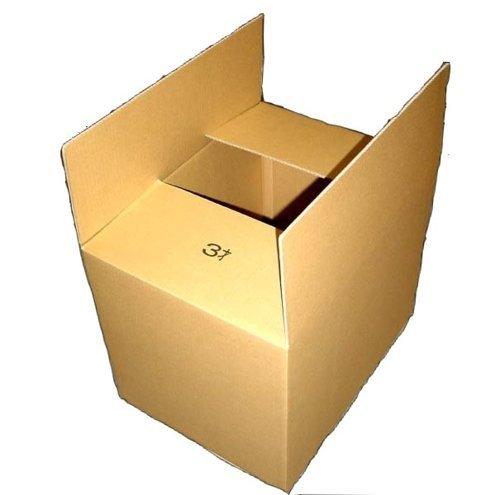 引越し梱包に最適な大きなシングルダンボールです。 引越用ダンボール 大サイズ 宅配160サイズ シングルダンボール 3才 ばら売り