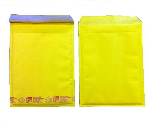 黄色い クッション封筒 ポップエコ850T×100枚 パック A4ファイル用 送料無料