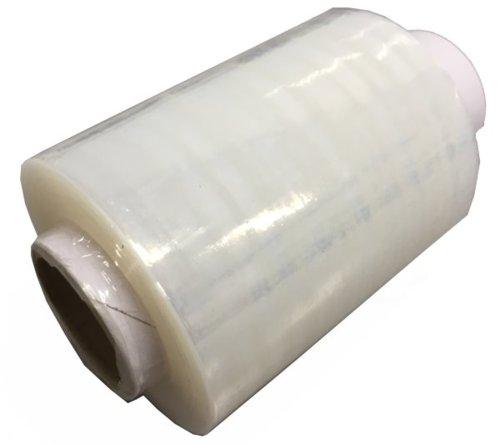結束に便利な小型ストレッチ ハンディーストレッチフィルム100mm×150m 厚さ15μ 結束用に最適