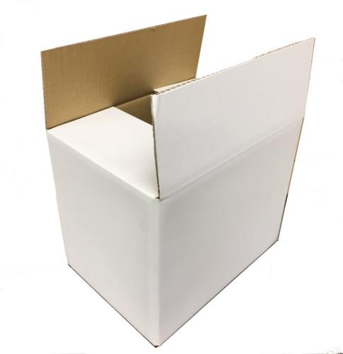 宅配100サイズ 白いシングルダンボール SA-100×40枚 パック