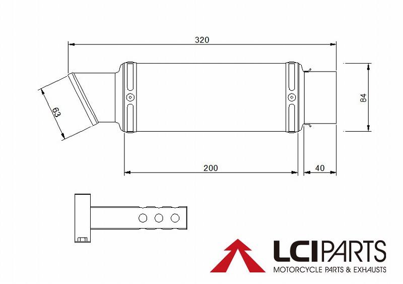 ZRX1200 DAEG Daegu LCI short stainless slip-on muffler