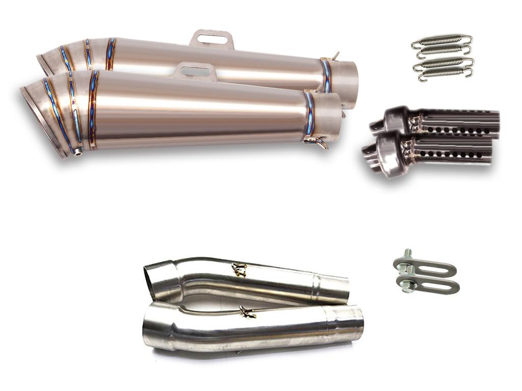 ドゥカティ MONSTER モンスター900 M900 M800 M620 M695 LCI GPチタンスリップオンマフラー