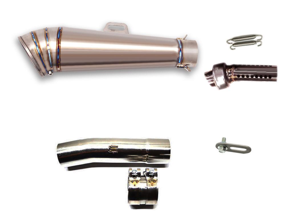 VTR250 1998-2014 LCI GPチタンスリップオンマフラー