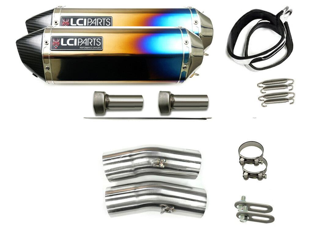 X4 1997- (SC38) LCIカーボンエンドチタンスリップオンマフラー