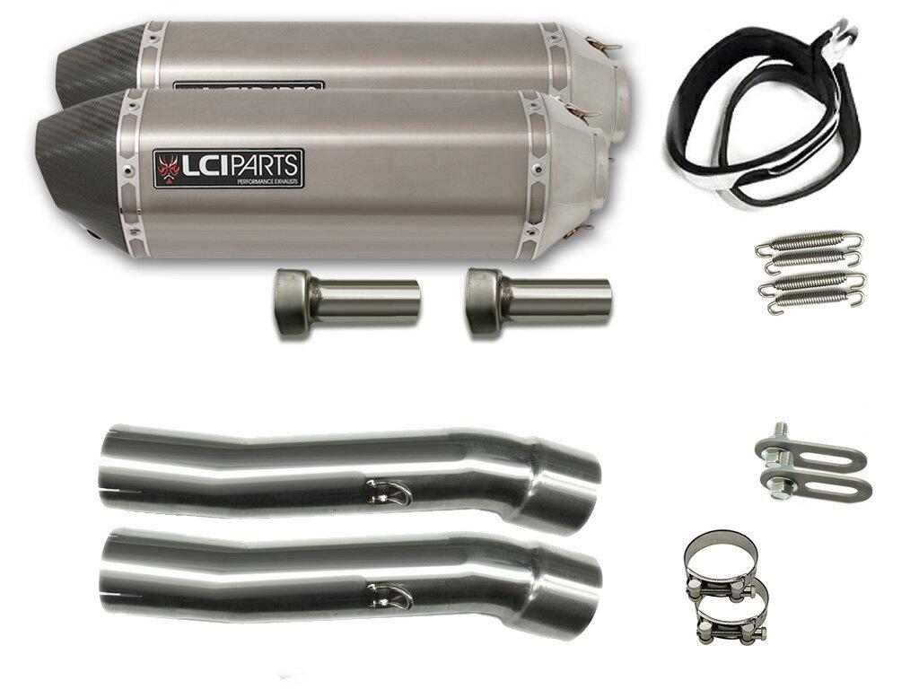 GPZ900R 1984-2003 LCIカーボンエンドステンレススリップオンマフラー