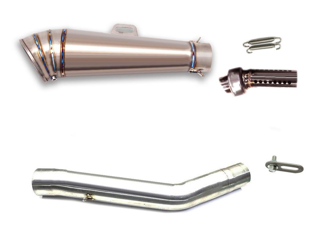 Z750 2007-2012 LCI GPチタンスリップオンマフラー