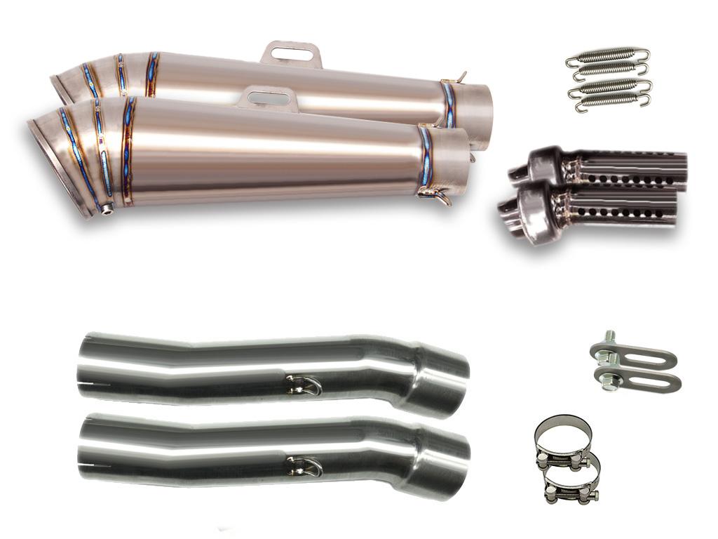 XJR1300 [5EA] 1998-2002 LCI GPチタンスリップオンマフラー