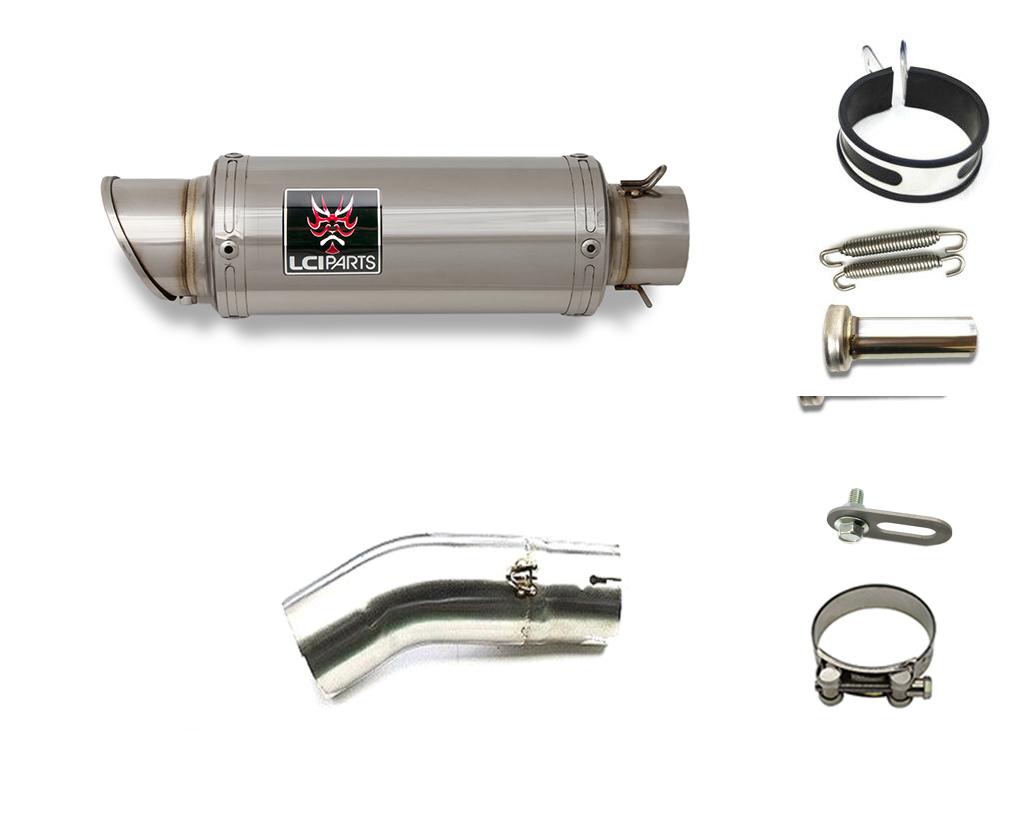 NINJA H2 2015-2020 LCIショートステンレススリップオンマフラー