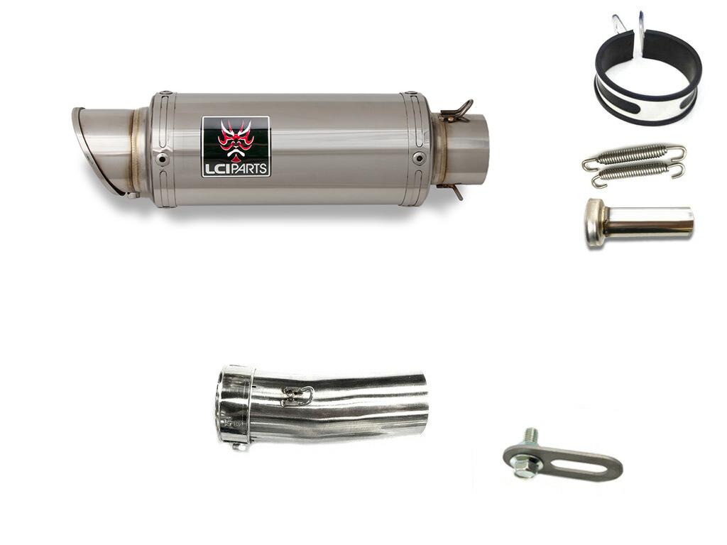 モトグッチ グリーソ8V GRISO LCIショートステンレススリップオンマフラー