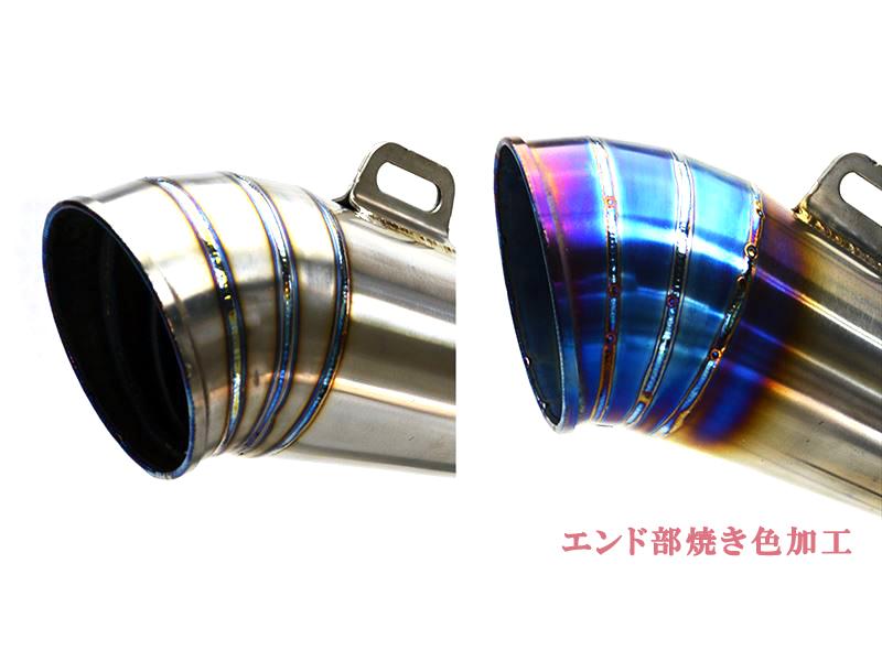 ZX10R ZX-10R 2011-2016 LCI GP 티타늄 슬립 온 머플러
