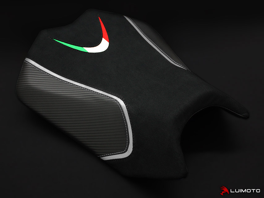 APRILIA TUONO 11-20 LUIMOTO 製ライダーシートカバー (Team Italia 9031103)