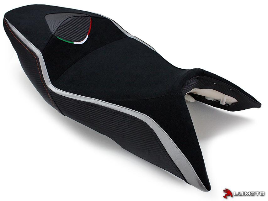 APRILIA SHIVER 07-09 LUIMOTO 製ライダーシートカバー (Team Italia 9072101)