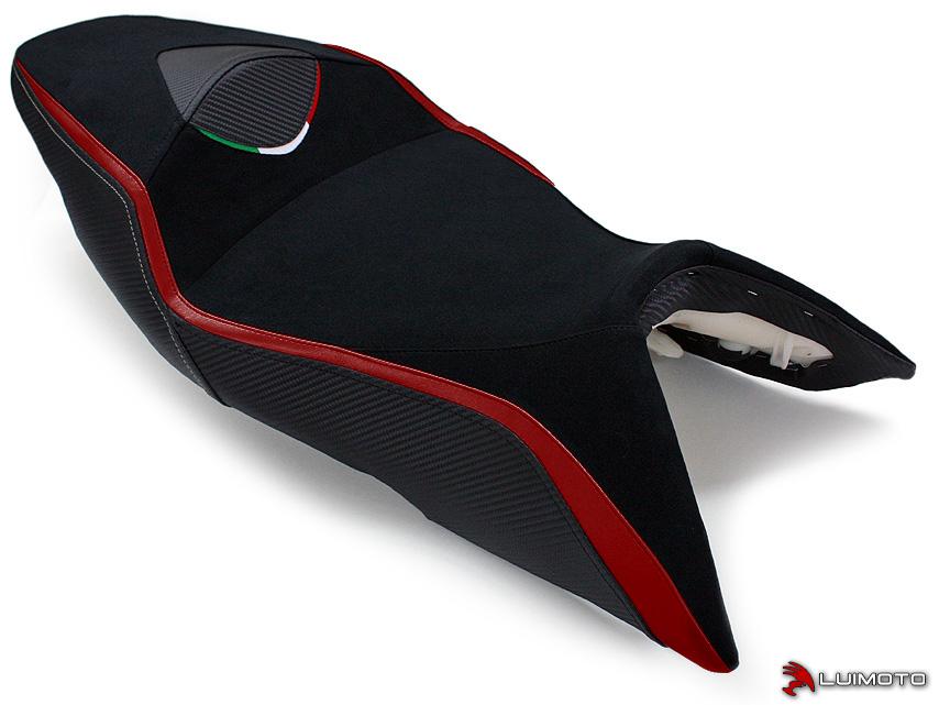 APRILIA SHIVER 07-09 LUIMOTO 製ライダーシートカバー (Team Italia 9072103)