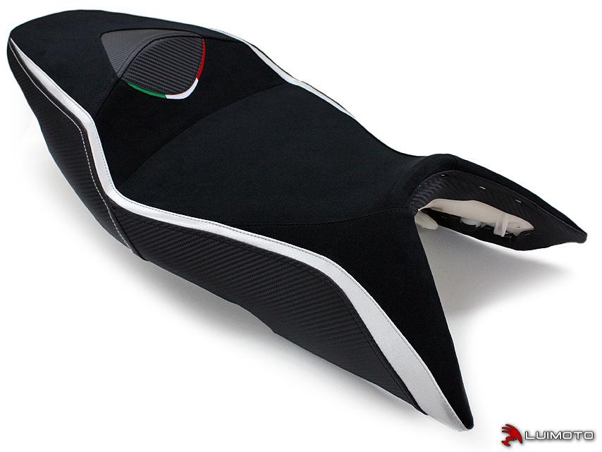 APRILIA SHIVER 07-09 LUIMOTO 製ライダーシートカバー (Team Italia 9072105)