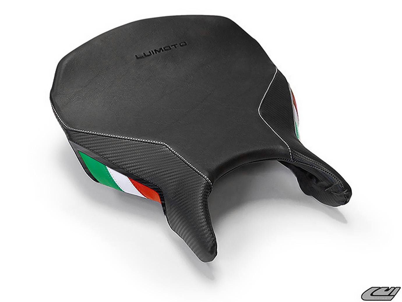 DUCATI 749 999 03-06 LUIMOTO 製ライダーシートカバー (Team Italia 1042102)