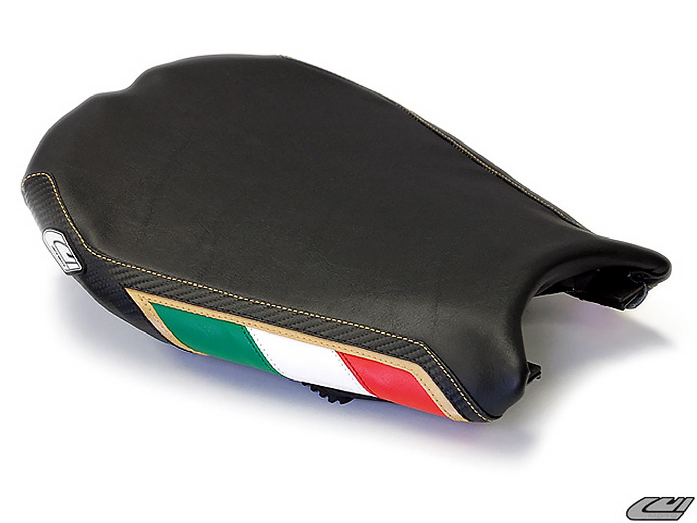 DUCATI 848 1098 1198 08-13 LUIMOTO 製ライダーシートカバー (Team Italia 1052103)
