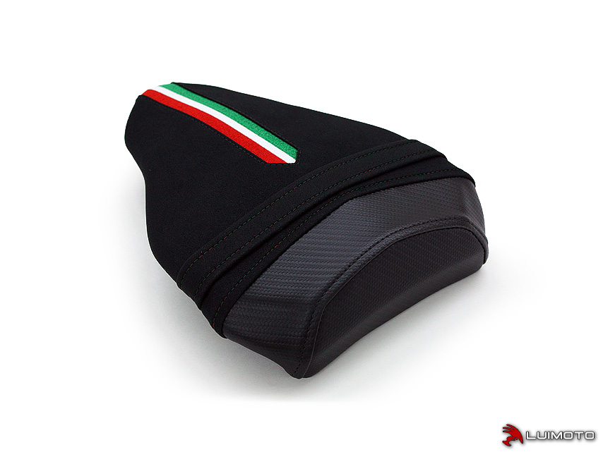 DUCATI STREETFIGHTER 09-15 LUIMOTO 製タンデムシートカバー (Team Italia Suede 1131202)