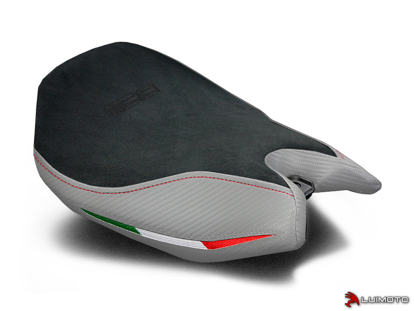 DUCATI PANIGALE 1199 11-15 LUIMOTO 製コンフォート ライダーシートカバー (Team Italia 1201102)