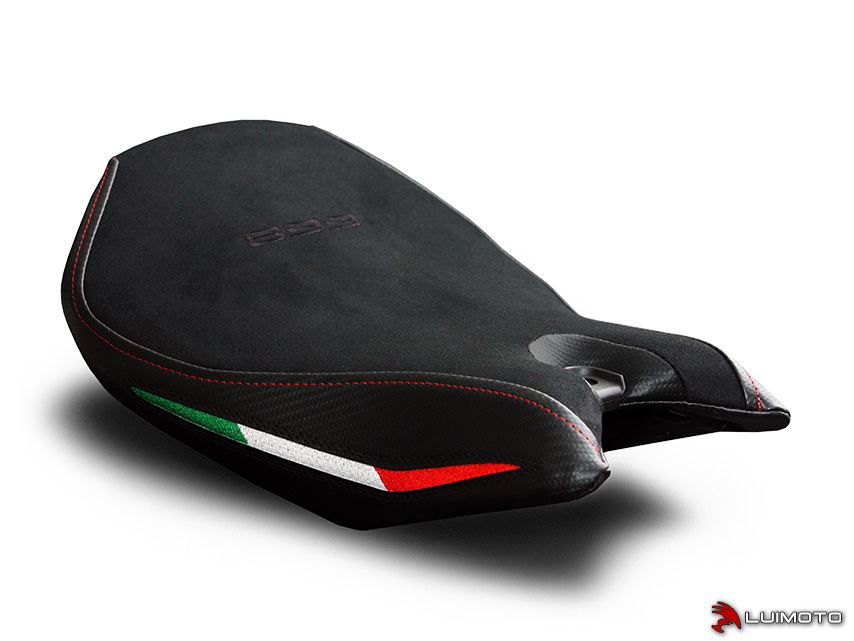 DUCATI PANIGALE 899 13-15 LUIMOTO 製ライダーシートカバー (Team Italia 1251101)