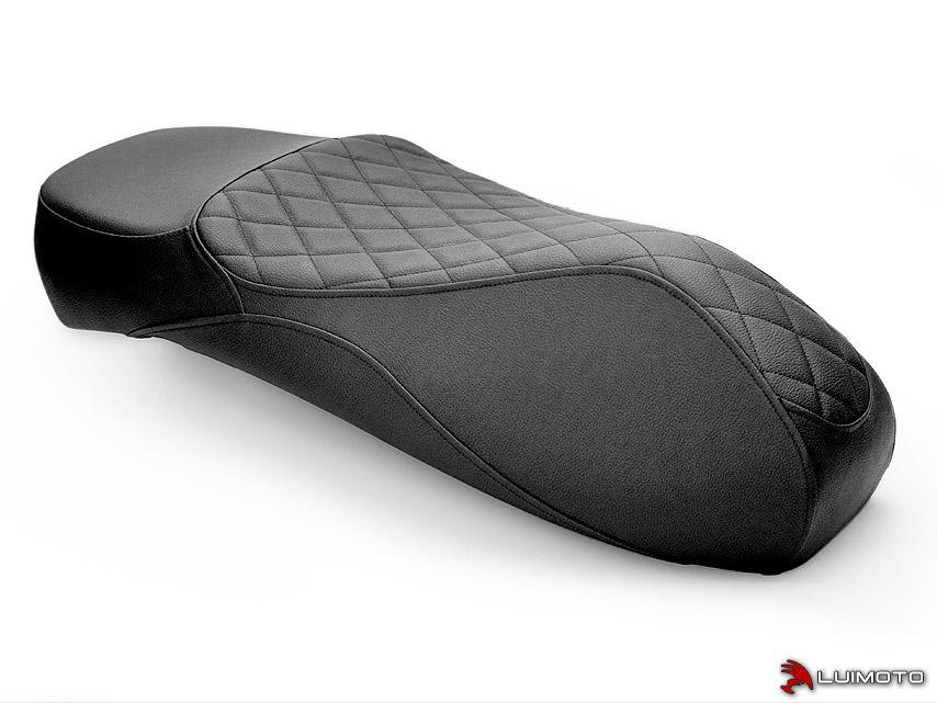 VESPA GTS 125 150 300 09-19 LUIMOTO 製ライダーシートカバー (Cenno 16011101)
