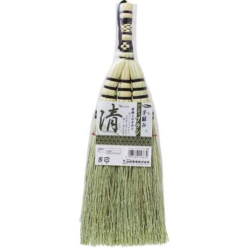箒職人の手作り 年中無休 与え BA33 山崎産業 コンドル ほうき ハンディブラシ手編み 1コ入