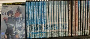 ki-1736cc【DVD】 コードギアス 反逆のルルーシュシリーズ 計26巻セット【ケース無し発送】 【中古】 アニメ ブラックフライデー