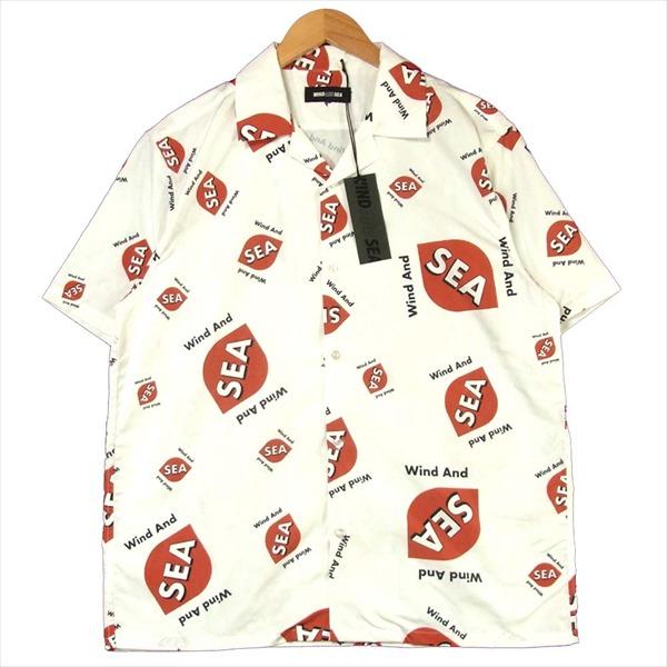 【お1人様1点限り】 ウィンダンシー WINDANDSEA WDS-SH-01 WDS rhombus-pattern Open coller shirt 総柄 オープンカラー 半袖シャツ ホワイト系 M 【新古品】【未使用】 【スペシャルアイテム】【】, 岐阜のトイレットペーパー工場 ec67c805