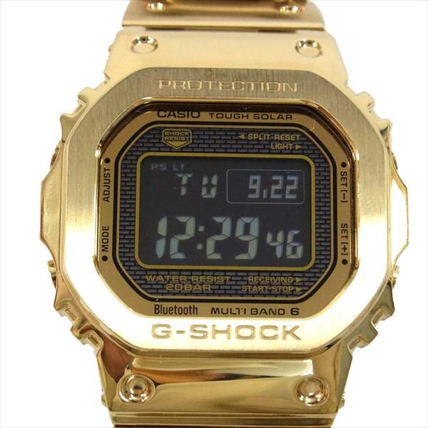 ジーショック G-SHOCK GMW-B5000 Bluetooth 35周年記念 フルメタル ソーラー デジタル ブルートゥース 時計 ウォッチ ゴールド系 【中古】