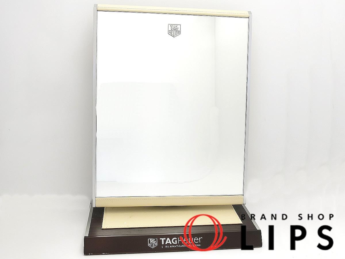 時計関連グッズ タグホイヤー 非売品店頭用卓上スタンドミラー【中古】
