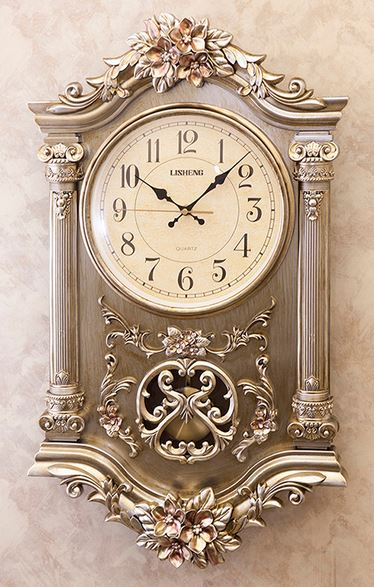 輸入雑貨 ビクトリアンパレス ウォールクロック ドゥオーモ 時計 シルバー アンティーク LS-BQ8110NY Duomo 送料無料