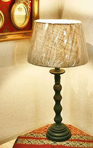 輸入雑貨 ルーラー シェードランプ テーブルランプ スタンド コベントガーデン Covent リビングスタジオ シャビーシック アンティーク カフェ GC-04 送料無料