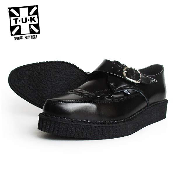 TUK/ティーユーケー ラバーソール/ポインテッドトゥ メンズ 「POINTED TOE CREEPERS」 A8520 靴 スニーカー 厚底 パンク ロカビリー レディース ファッション モッズ