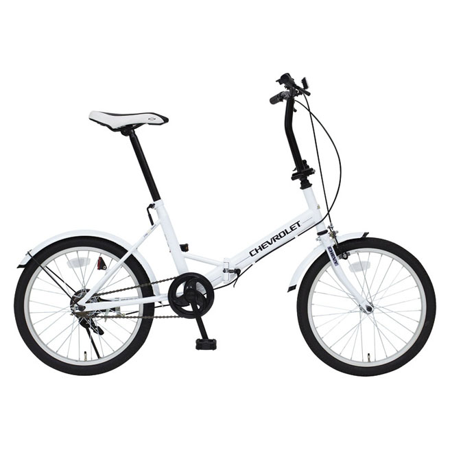 シボレー 20インチ 折りたたみ自転車 MG-CV20E CHEVROLET FDB20E 【フェンダー付き 折畳自転車 】[直送品]