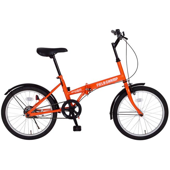 MG-FCP20 20インチ折り畳み自転車 フィールドチャンプ FDB20 【FIELD CHAMP 自転車 OR MIMUGO ミムゴ】[直送品]
