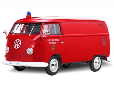 現品限り 日本メーカー新品 送料無料 1 12 1956年 フォルクスワーゲン VW 新作 1000台限定モデル Kastenwagen ワーゲンバス 消防車 タイプ2