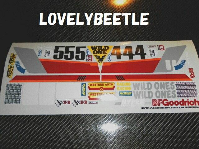 送料無料 1 10 ワイルドワン ビニールステッカーセット 旧バージョン WILD ONE サービス サンドバギー ラリー 空冷バギー 時間指定不可 ホットロッド オフロード VW ビートル ワーゲン
