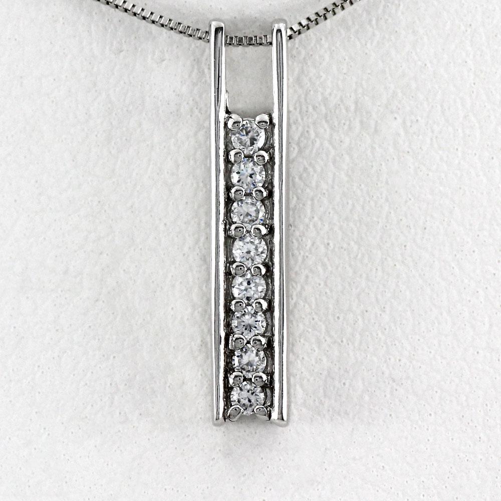 ネックレス ダイヤモンド ペンダント レディース シンプル ゴールド k18 18k 18金