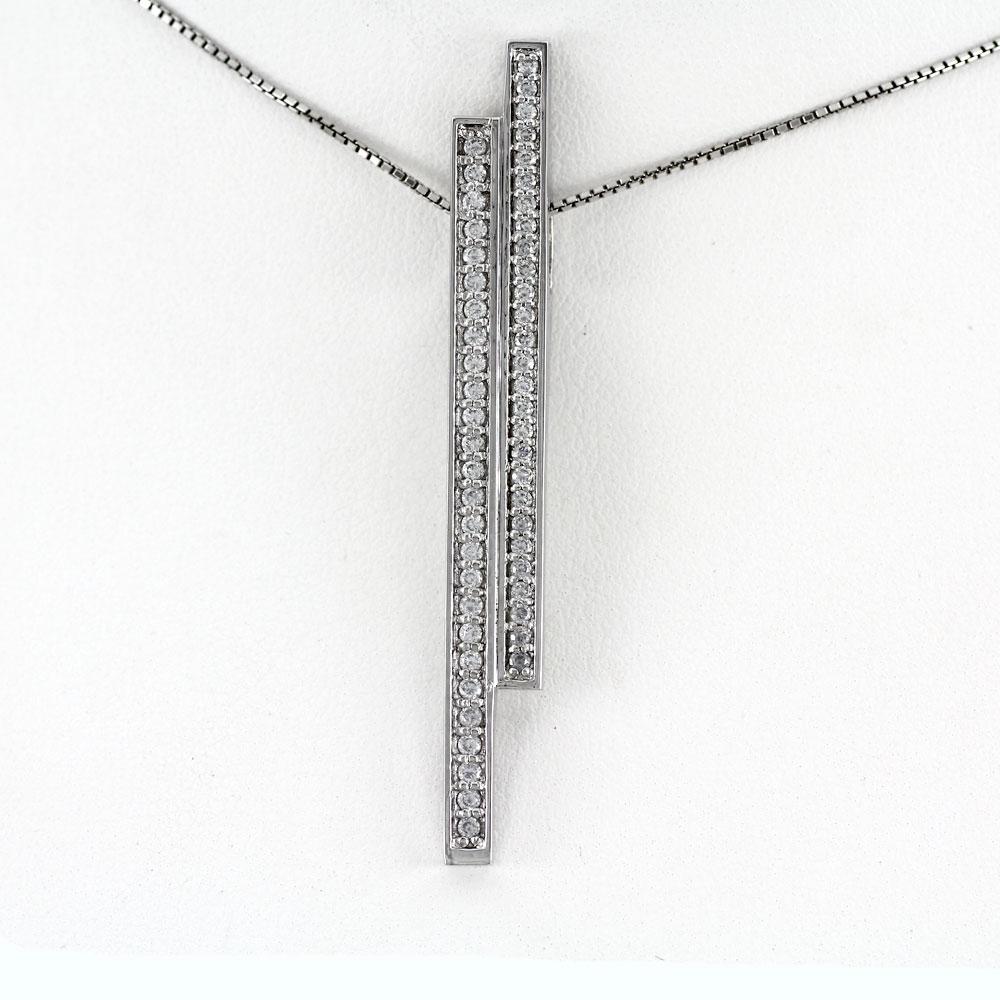 プラチナ ネックレス ダイヤモンド ペンダント レディース シンプル ストレート ゴージャス pt900
