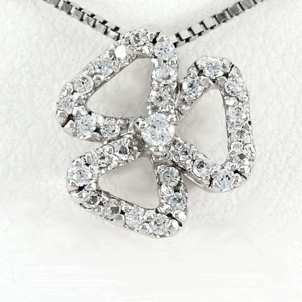 ダイヤモンド ネックレス 18k ペンダント レディース フラワー 花 透かし ゴールド k18 18金