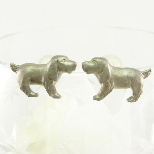 ピアス ダイヤモンド レディース 犬 いぬ イヌドッグ 動物 アニマル 地金 プラチナ pt900
