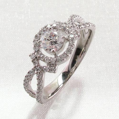 ダイヤモンド リング 指輪 レディース 一粒 SI SIクラス 0.3カラット 0.3カラット ゴージャス k18 18k 18金 ゴールド