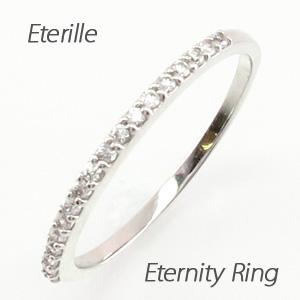 ピンキーリング ダイヤモンド ダイヤ プラチナ レディース 指輪 エタニティ ハーフエタニティ ファランジ 重ねづけ 華奢