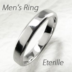ダイヤモンド リング 指輪 メンズ 平打ち 地金 シンプル マリッジダイヤモンド リング 結婚指輪 ゴールド 10k K10 10金
