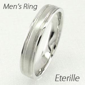 ダイヤモンド リング 指輪 メンズ つや消し 地金 18金 マリッジダイヤモンド リング 結婚指輪 ゴールド 18k k18 18金
