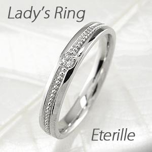 ダイヤモンド リング 指輪 レディース アンティーク ミル打ち k18 18k 18金 ゴールド マリッジダイヤモンド リング 指輪 結婚指輪