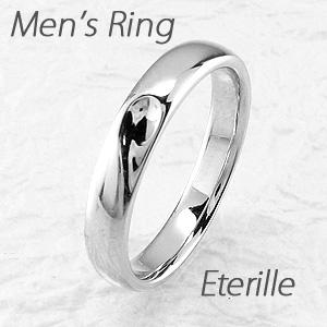 ダイヤモンド リング 指輪 メンズ シンプル 甲丸 ハート 地金 マリッジダイヤモンド リング 結婚指輪 プラチナ pt900
