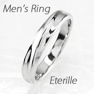 ダイヤモンド リング 指輪 メンズ 地金 ツイスト マリッジダイヤモンド リング 結婚指輪 プラチナ pt900
