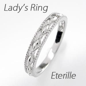 ダイヤモンド リング 指輪 レディース アンティーク ミル打ち 透かし k18 18k 18金 ゴールド マリッジダイヤモンド リング 指輪 結婚指輪