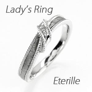 リング プラチナ ダイヤモンド 指輪 レディース リボン アンティーク ミル打ち ツヤ消し マットリング プラチナ ダイヤモンド 指輪 プラチナ マリッジリング プラチナ ダイヤモンド 指輪 結婚指輪