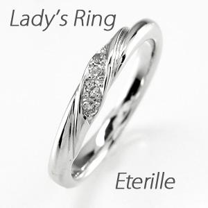 リング プラチナ ダイヤモンド 指輪 レディース 甲丸 シンプル ツイスト プラチナ マリッジリング プラチナ ダイヤモンド 指輪 結婚指輪